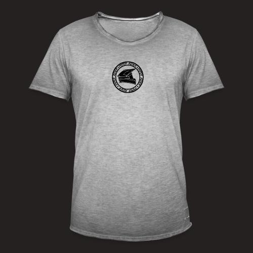 500hr black - Männer Vintage T-Shirt