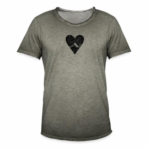 Bergliebe - used / vintage look - Männer Vintage T-Shirt