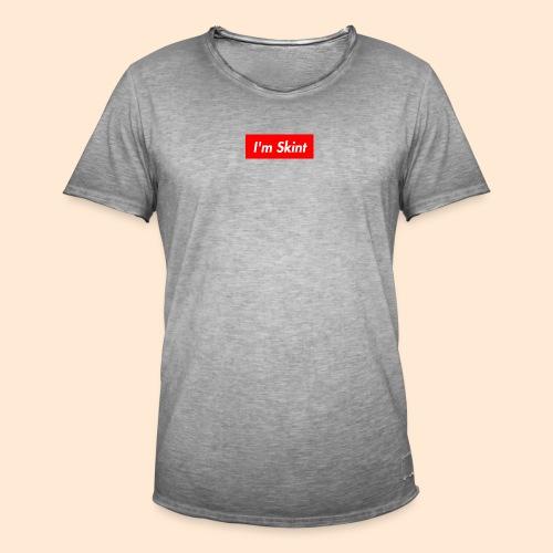 I'm Skint - Men's Vintage T-Shirt