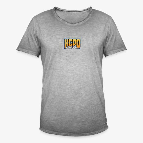 KCDQ , v1.0 , - T-shirt vintage Homme