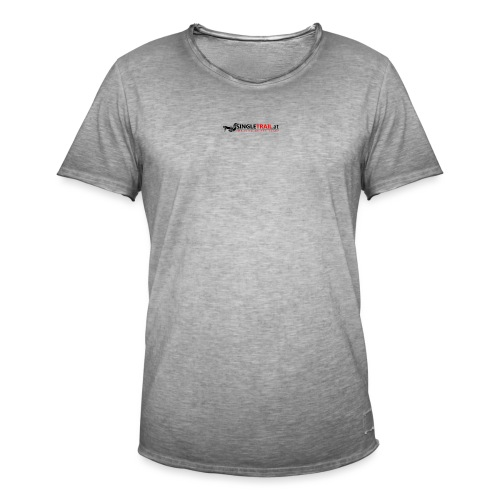 Singletrail.at Logo Edition - Männer Vintage T-Shirt