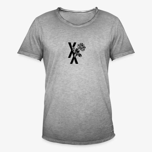 EST19XX ROSE - Mannen Vintage T-shirt