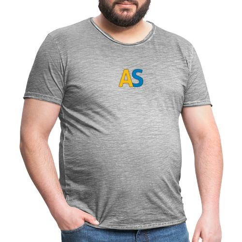 logoas - Maglietta vintage da uomo