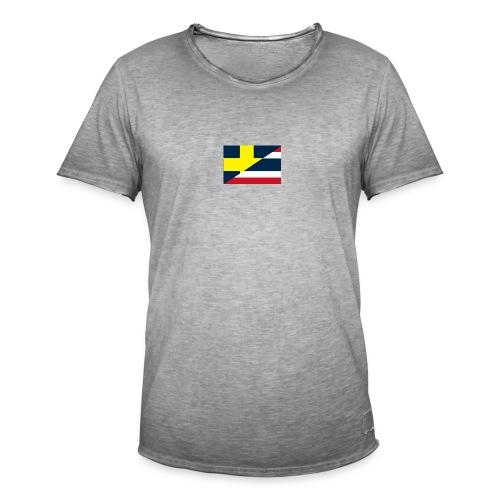 thailands flagga dddd png - Men's Vintage T-Shirt