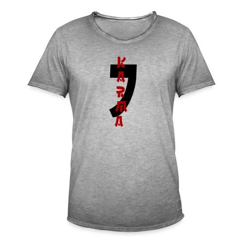 KARMA - T-shirt vintage Homme