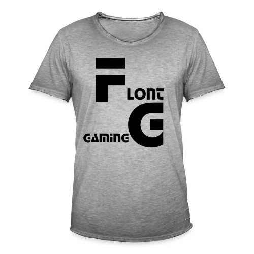 Flont Gaming merchandise - Mannen Vintage T-shirt