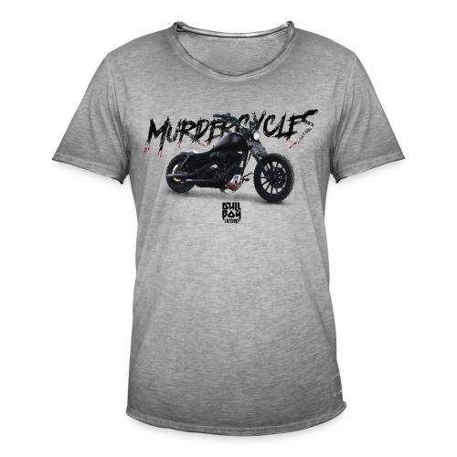 Murdercycles Dyna - Vintage-T-skjorte for menn