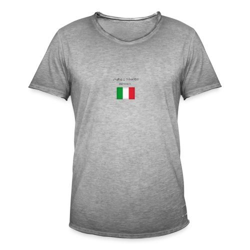 Włosko-polska - Koszulka męska vintage