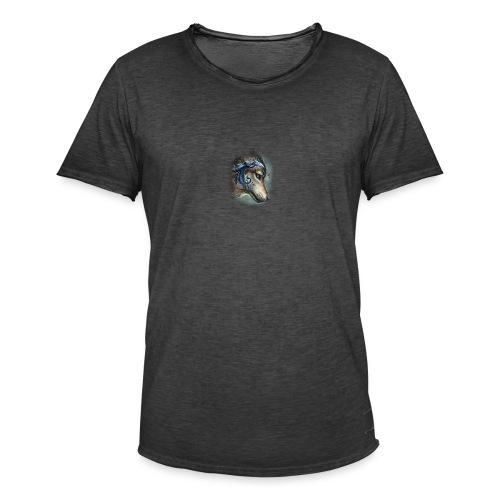 magnifique loups - T-shirt vintage Homme