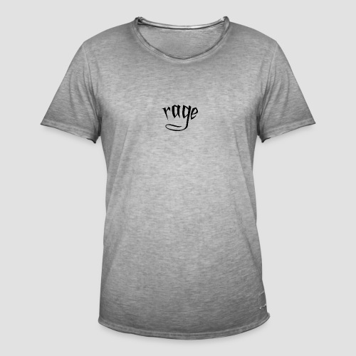 RAGE - Maglietta vintage da uomo