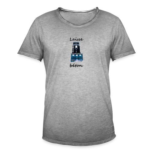 laisse_b--ton-png - T-shirt vintage Homme