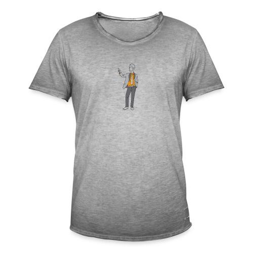 Mann im Anzug - Männer Vintage T-Shirt