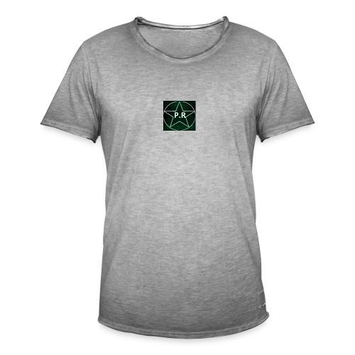 logo P.R - T-shirt vintage Homme