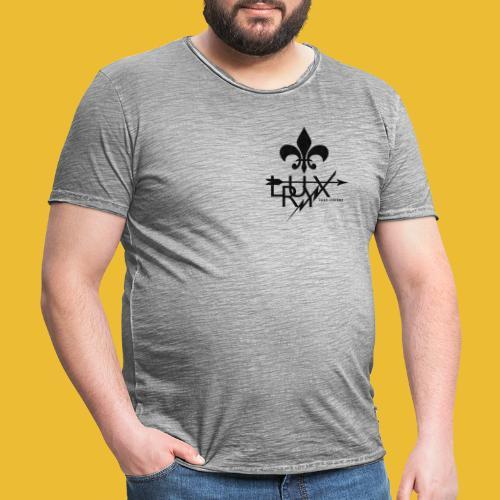 Luxry (Black) - Men's Vintage T-Shirt