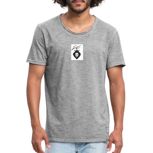 Lion - T-shirt vintage Homme