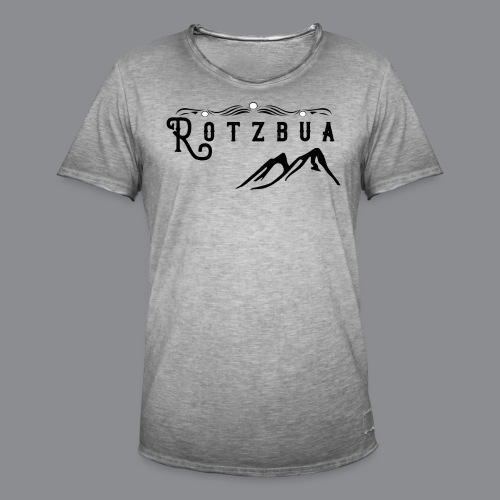 Rotzbua - Männer Vintage T-Shirt