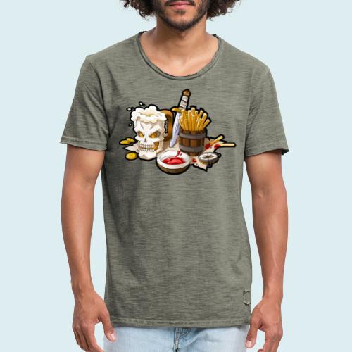 Arr menù - Maglietta vintage da uomo