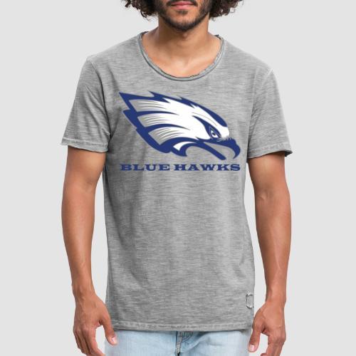 Logo and Lettering singlesided - Männer Vintage T-Shirt