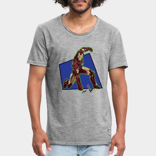 ironMan - Maglietta vintage da uomo
