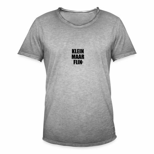 KLEIN MAAR FIJN - Mannen Vintage T-shirt