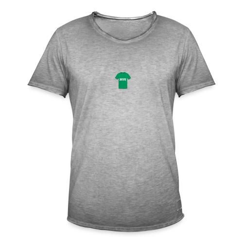 BM groen t-shirt - Mannen Vintage T-shirt