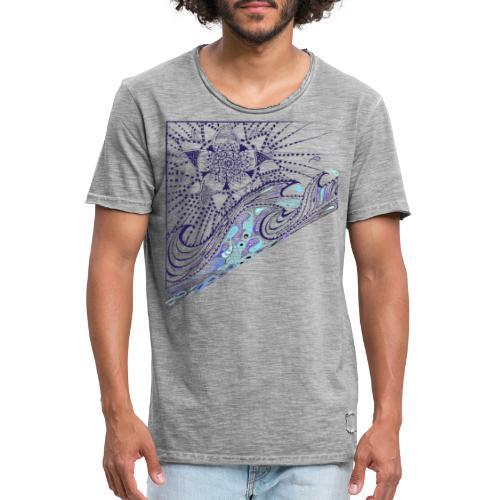 Wave - Männer Vintage T-Shirt