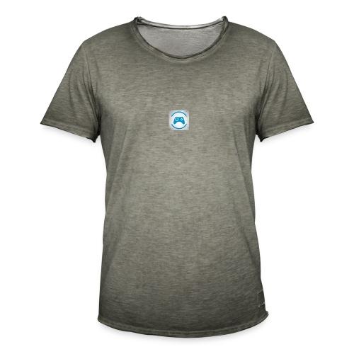 mijn logo - Mannen Vintage T-shirt
