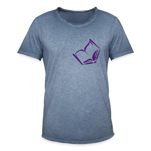 bookjunkie - Männer Vintage T-Shirt