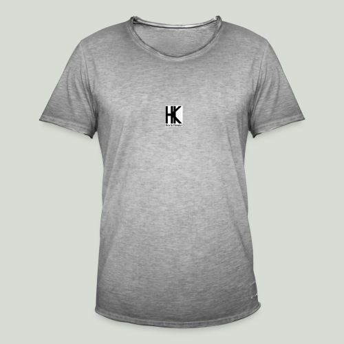 HK Logo - Mannen Vintage T-shirt