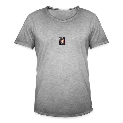 300 - Vintage-T-skjorte for menn