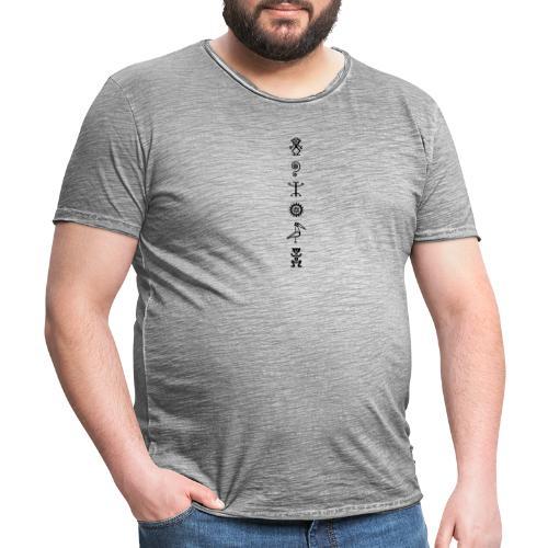 Petroglyphs - T-shirt vintage Homme