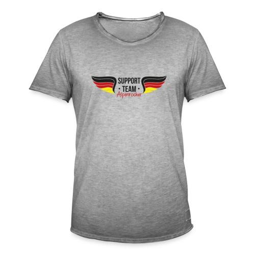 Support team Alpenrocker Andreas fanshirt - Männer Vintage T-Shirt