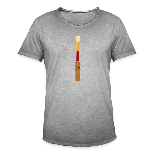 oboe reed - Männer Vintage T-Shirt