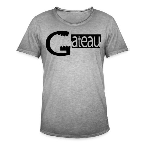 Gateau - T-shirt vintage Homme