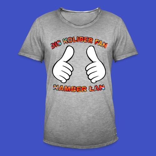 Fan #1 - Koszulka męska vintage