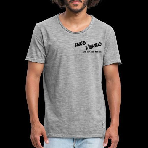 Awesome - Men's Vintage T-Shirt