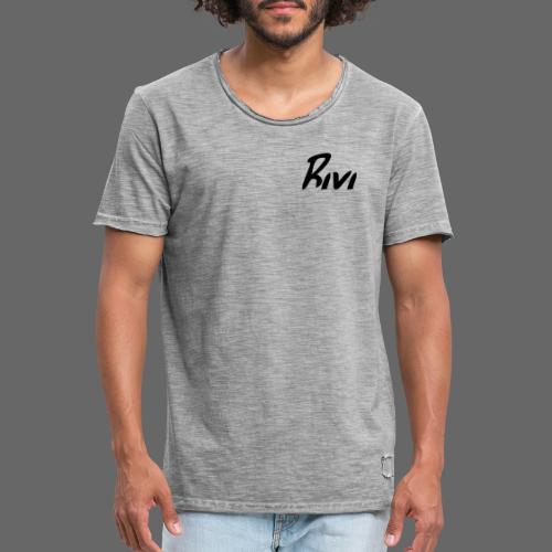 Rivi Edition - Männer Vintage T-Shirt