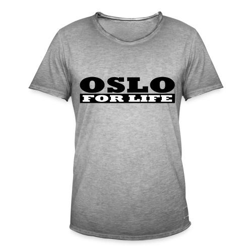 Oslo fürs Leben - Männer Vintage T-Shirt