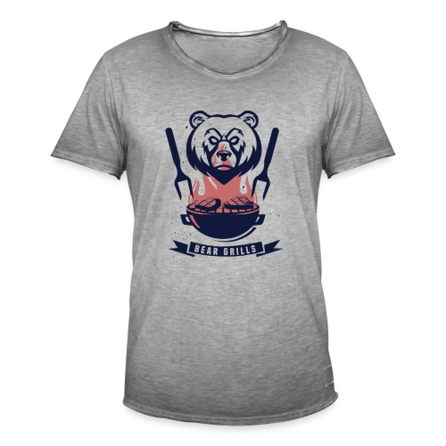 Bear Grills - Vintage-T-shirt herr