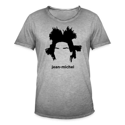 Jean-Michel Basquiat - Maglietta vintage da uomo