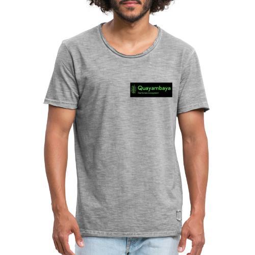 Quayambaya Sportswear - Männer Vintage T-Shirt