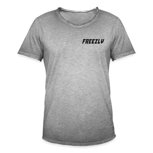 Freezly [Serien] Merch Kollektion - Männer Vintage T-Shirt