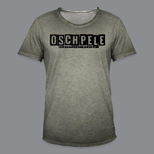 oschpele Kachelform - Männer Vintage T-Shirt