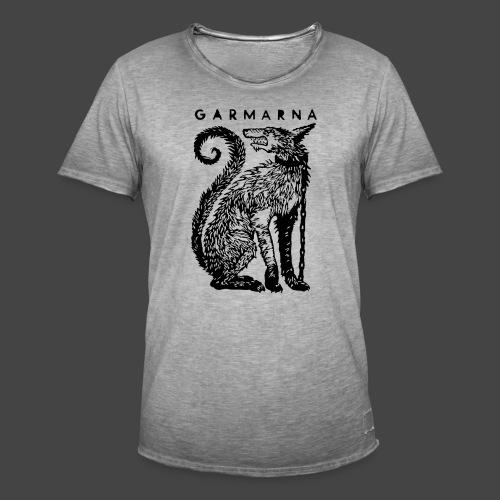Garmhund - Vintage-T-shirt herr