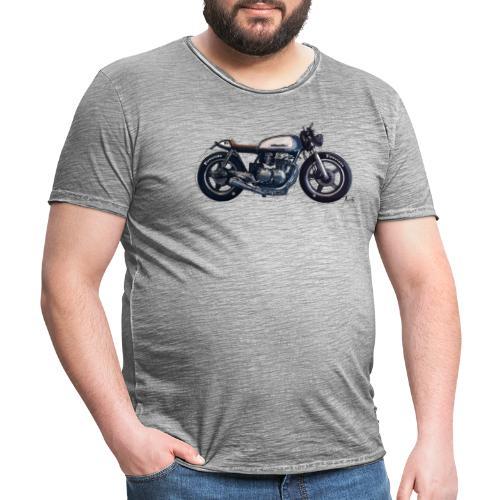 Caferacer! - Vintage-T-skjorte for menn