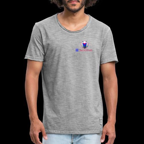 Safe the Animals Kollektion - Men's Vintage T-Shirt