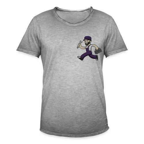 Buck Solutions - Mannen Vintage T-shirt