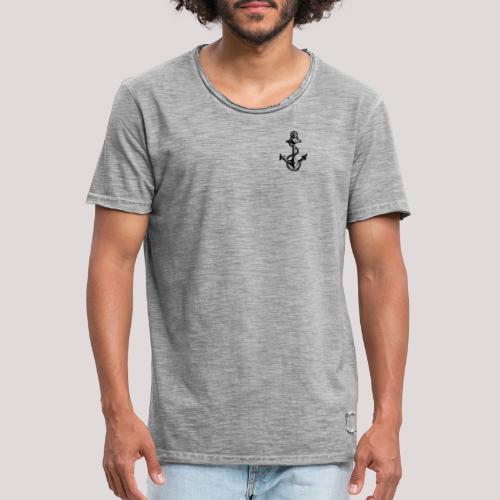 Anker - Männer Vintage T-Shirt