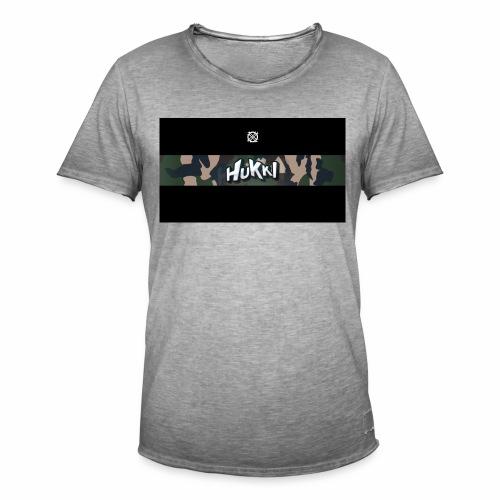 HuKKi - Männer Vintage T-Shirt
