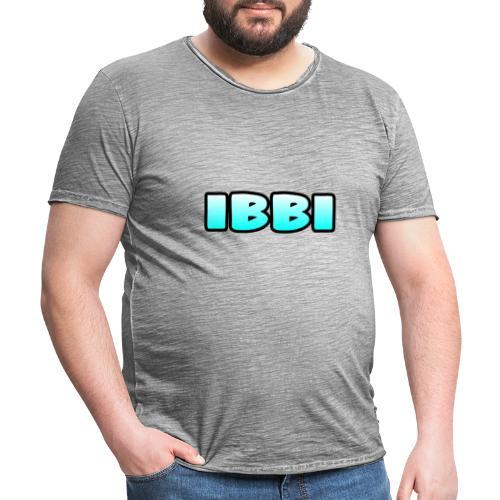 Ibbi-Shirt - Männer Vintage T-Shirt